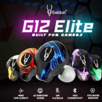 【Sabbat G12 Elite】Gaming Series 入耳式耳機 電競級高音質推介